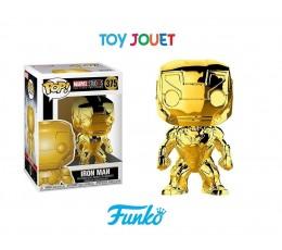 FUNKO POP 375 IRON MAN GOLD CHROME MARVEL STUDIO