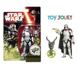 BLISTER NEUF Figurine Star Wars VII Captain Phasma Forest Mission 9,5 cm