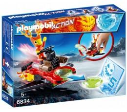 BOITE NEUVE Playmobil 6834 - Action - Androïde de la glace / Lance-disques