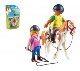 BOITE NEUVE Playmobil 9258 - Instructeur d'équitation
