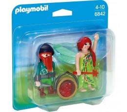 BOITE NEUVE Playmobil 6842 - Elfe et Nain
