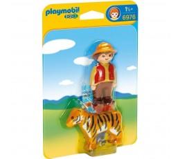 BOITE NEUVE Playmobil 1.2.3 Playmobil 6976 - ENFANT AVEC TIGRE