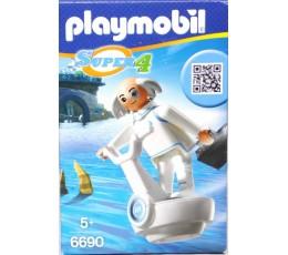 BOITE NEUVE Playmobil 6690 - Super 4 Technopolis Dr. X