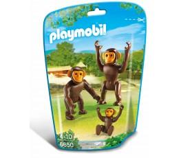 BOITE NEUVE Playmobil 6650 FAMILLE DE SINGES / ANIMAUX