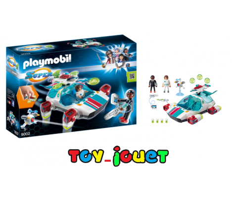BOITE NEUVE PLAYMOBIL 9002 - VAISSEAU SPATIAL FulguriX avec Gene