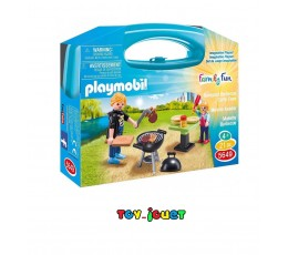 PLAYMOBIL 5649 : MALETTE BARBECUE