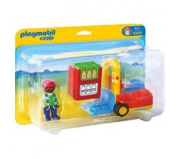 Playmobil 6959 - 1.2.3 Chariot Elévateur
