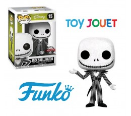 FUNKO POP 15 JACK SKELLINGTON DIAMOND GLITTER NIGHTMARE EXCLU SPECIAL EDITION