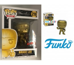 FUNKO POP 219 BRUCE LEE GOLD EXCLU SPECIAL EDITION